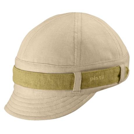 Pistil Parker Jockey Cap - Cotton-Linen (For Women)