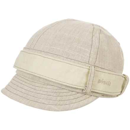 Pistil Parker Jockey Cap (For Women) in Linen - Closeouts