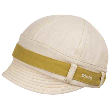 Pistil Parker Jockey Cap (For Women) in Natural - Closeouts