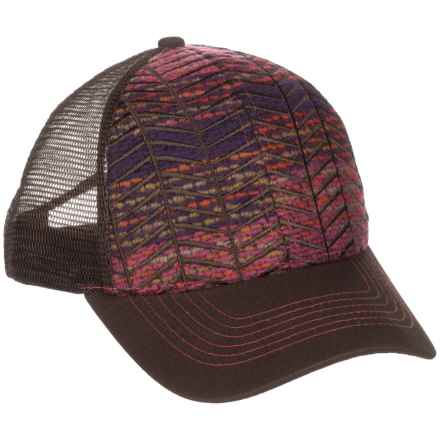 Pistil Pharis Trucker Hat (For Women) in Magenta - Closeouts