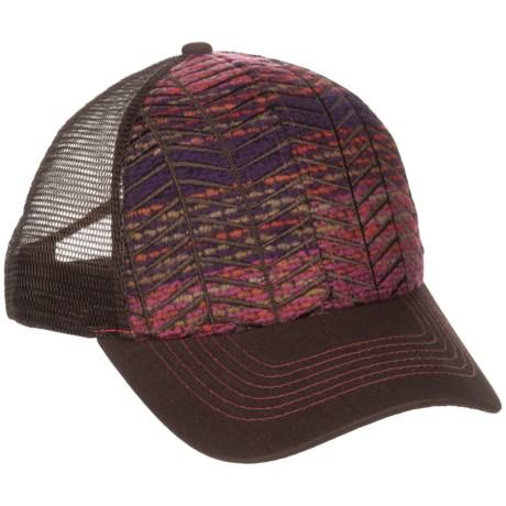 Pistil Pharis Trucker Hat (For Women) in Magenta
