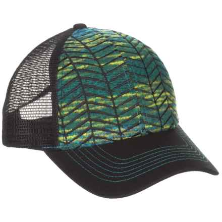 Pistil Pharis Trucker Hat (For Women) in Turquoise - Closeouts