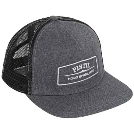 Pistil Quincy Trucker Hat (For Men) in Gray - Closeouts