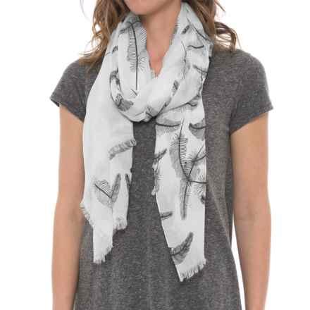 Pistil Ravenna Scarf (For Women) in White - Closeouts