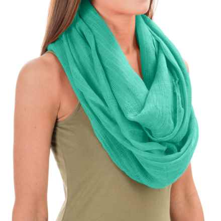 Pistil Salinas Infinity Scarf (For Women) in Jade - Closeouts