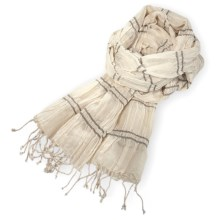 Pistil Scrunch Scarf (For Women) in Natural - Closeouts