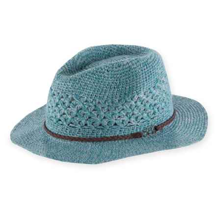 Pistil Sedona Wide Brim Fedora (For Women) in Blue - Closeouts