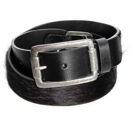 Pistil Solitaire Belt - Leather (For Women) in Black - Closeouts