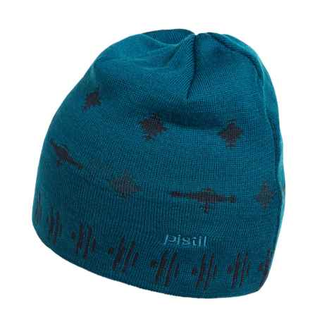 Pistil Sonic Nordic Knit Beanie - Merino Wool (For Men) in Marine - Closeouts