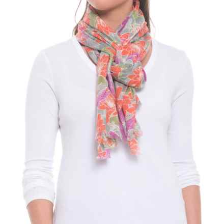 Pistil Sumi Scarf (For Women) in Coral - Closeouts