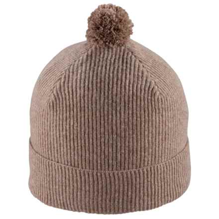 Pistil Yum Beanie - Wool-Cashmere (For Women) in Camel - Closeouts