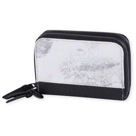Pistil Zip It Wallet (For Women) in Moonrock