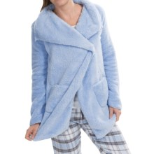 PJ Salvage Cozy Cardigan Sweater (For Women) in Blue - Closeouts