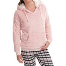 PJ Salvage Cozy Kangaroo Hoodie (For Women) in Blush - Closeouts