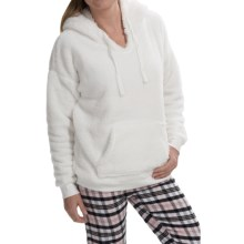 PJ Salvage Cozy Kangaroo Hoodie (For Women) in Ivory - Closeouts