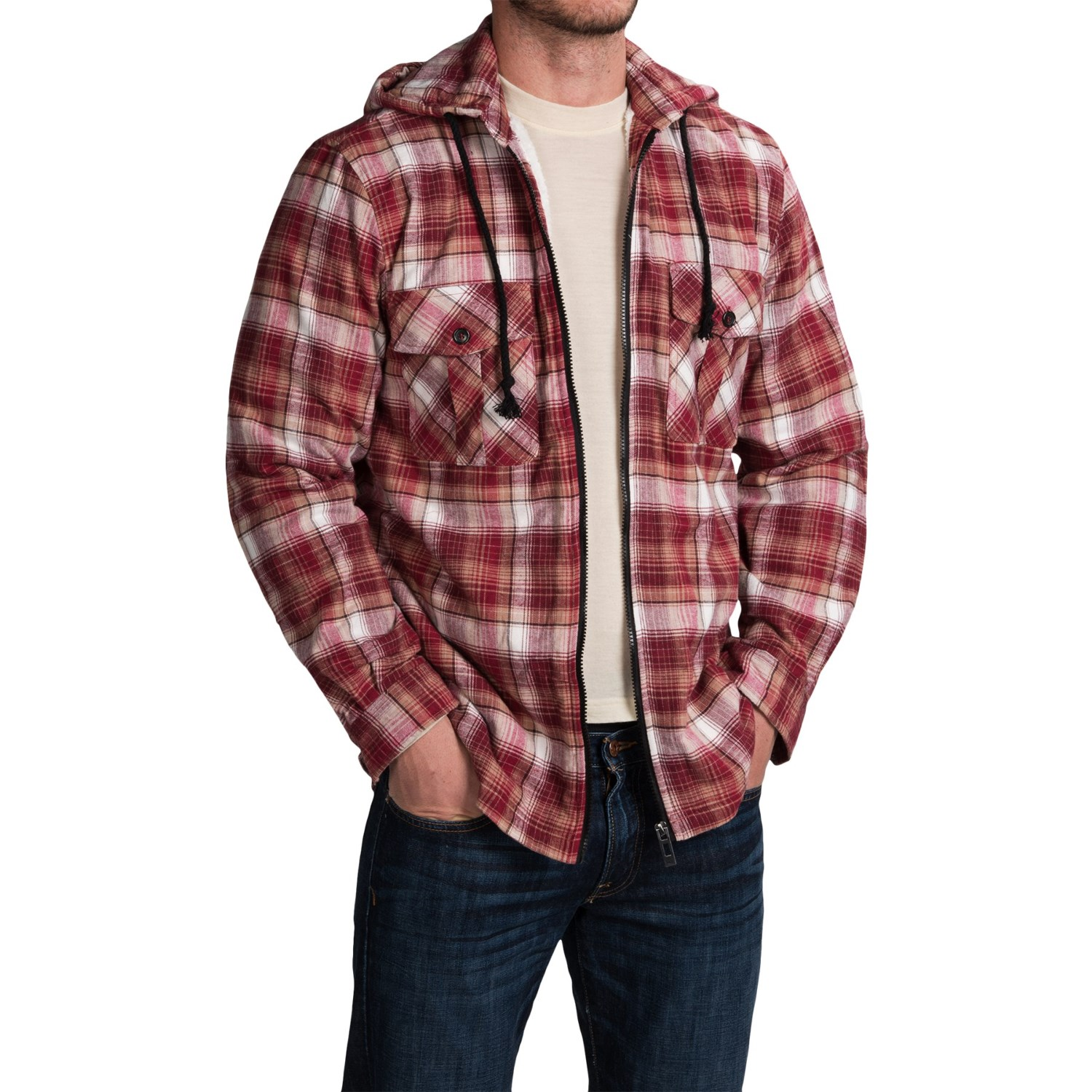 plaid shirt jacket for men and big men save 78