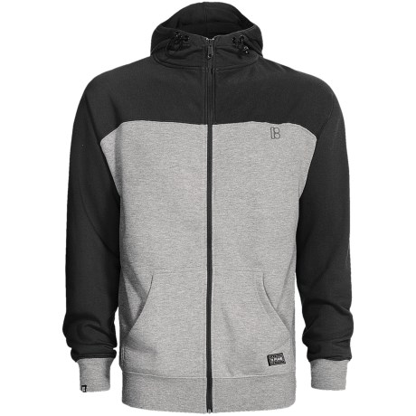 Plan B Contrast Hoodie (For Men) in Purple