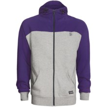 Plan B Contrast Hoodie (For Men) in Purple - Closeouts