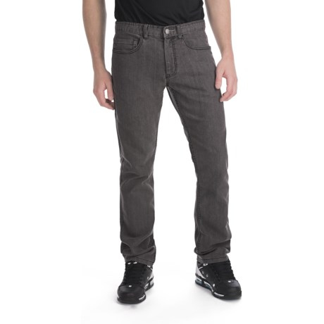 Plan B Franchise Denim Jeans - Slim Straight Fit (For Men) in Grey