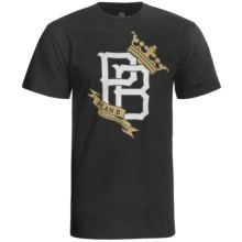 Plan B Graphic T-Shirt - Organic Cotton, Short Sleeve (For Men) in Ballpark Black - Closeouts