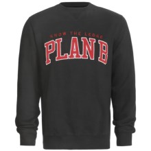Plan B Knowledge Sweatshirt (For Men) in Red - Closeouts