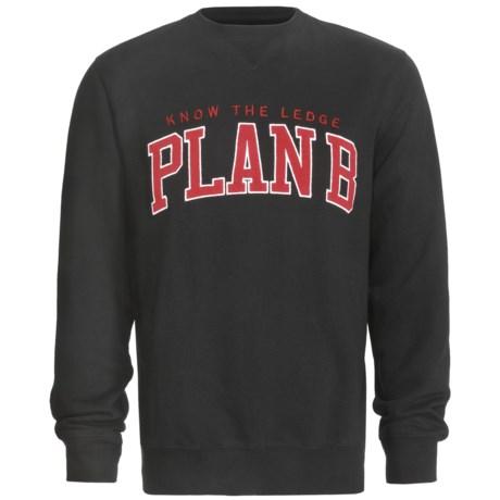 Plan B Knowledge Sweatshirt (For Men) in Red