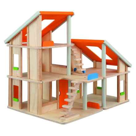 PlanToys Chalet Dollhouse in See Photo - Closeouts