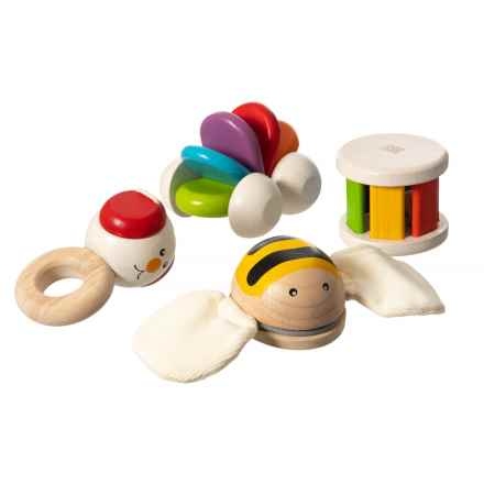 PlanToys Manipulative Plan Baby Set Toy in See Photo - Closeouts