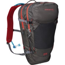 Platypus Duthie AM 12.0 Hydration Pack - 12L in Raven/Lava - Closeouts