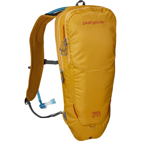 Platypus Tokul XC 5.0 Hydration Pack - 70 fl.oz. in Yellow
