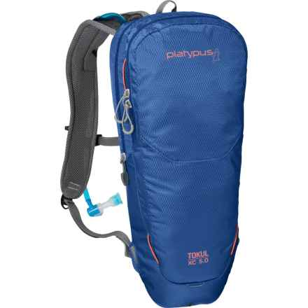 Platypus Tokul XC 5.0 Hydration Pack - 70 oz. in Blue - Closeouts