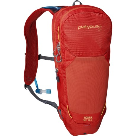 Platypus Tokul XC 8.0 Hydration Pack - 100 fl.oz. in Lava
