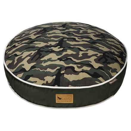 """P.L.A.Y. Camouflage Dog Bed - Small, 28"""" Round in Green - Closeouts"""