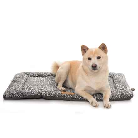 """P.L.A.Y. Pet Lifestyle and You Chill Pad Crate Mat - 30x20"""" in Snow Leopard - Closeouts"""