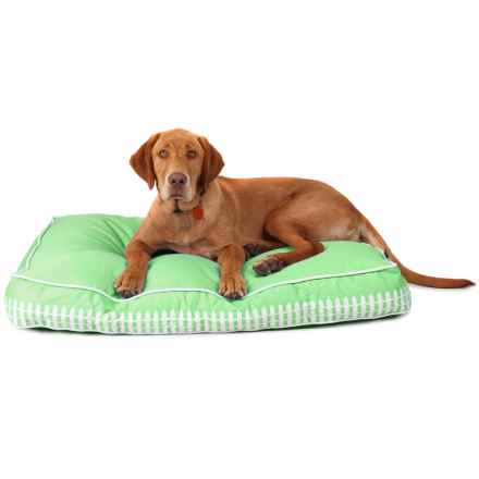 P.L.A.Y. Rectangle Fashion Pet Bed - Medium in Dream Green - Closeouts
