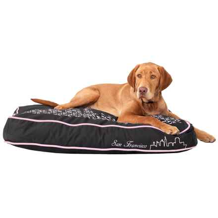 P.L.A.Y. SFYline Pet Bed - Medium in Black - Closeouts