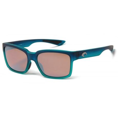 Playa Sunglasses - Polarized Mirror 580P Lenses (For Women)