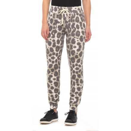8e07edf82 Playground Printed Jogger Pants (For Women) in Olive