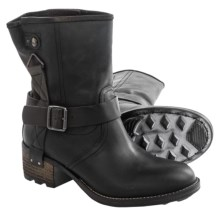 PLDM by Palladium Clint Leather Boots (For Women) in Black - Closeouts