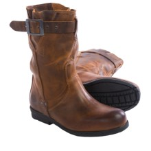 PLDM by Palladium Daisy Tug Boots - Leather (For Women) in Brown - Closeouts