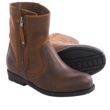 PLDM by Palladium Didger Boots - Leather (For Women) in Cognac - Closeouts