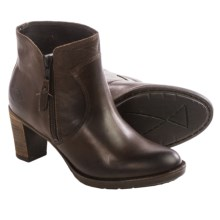 PLDM by Palladium Spring Ankle Boots - Leather (For Women) in Dark Brown - Closeouts