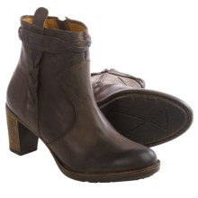 PLDM by Palladium Stony Leather Ankle Boots (For Women) in Dark Brown - Closeouts