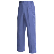 Pleated Front Pants (For Men) in Medium Blue - 2nds