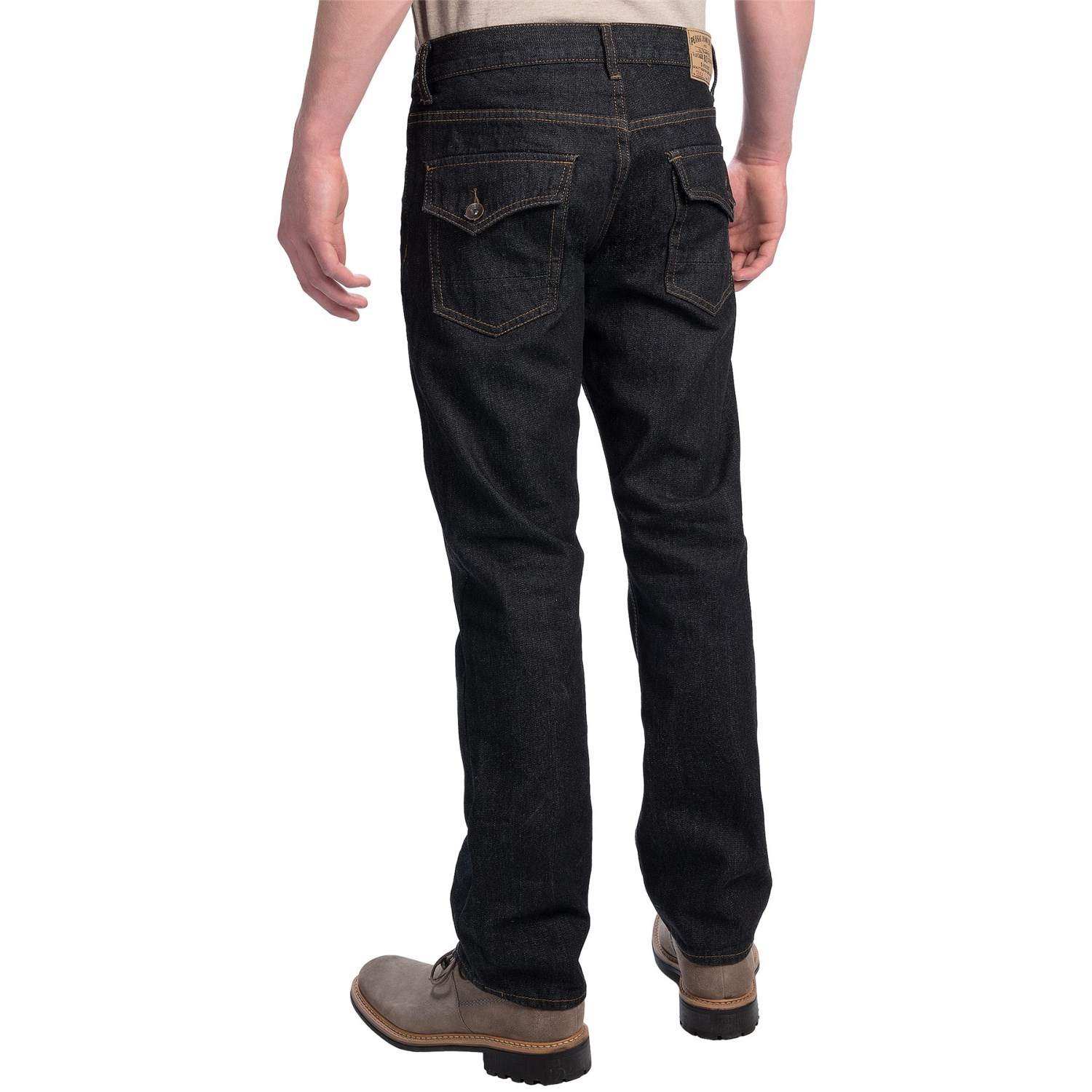 9379g 2 Plugg Slim Straight Fit Jeans With Flap Back