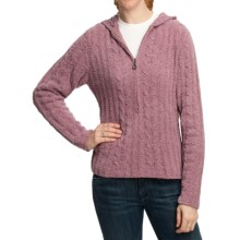 Plush by Colorado Clothing Microfleece Hoodie Sweater (For Women) in Plum Sky - Closeouts