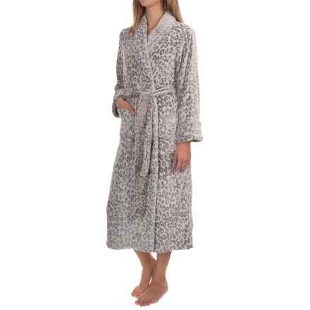 Plush Frosted Wrap Robe (For Women) in Earth - 2nds