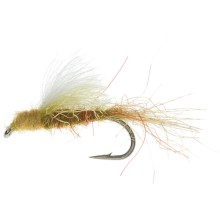 PMD CDC Transit Dun Dry Fly - Dozen in Pale Morning Dun - Closeouts