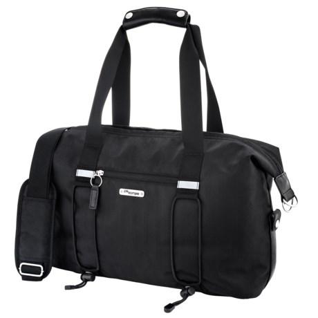 Po Campo Bike Share Bag in Black Herringbone
