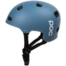 POC Crane Cycling Helmet (For Men and Women) in Azurite Grey - Closeouts